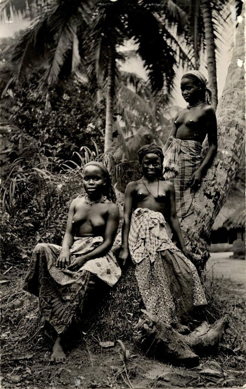 Девушки из Сенегала