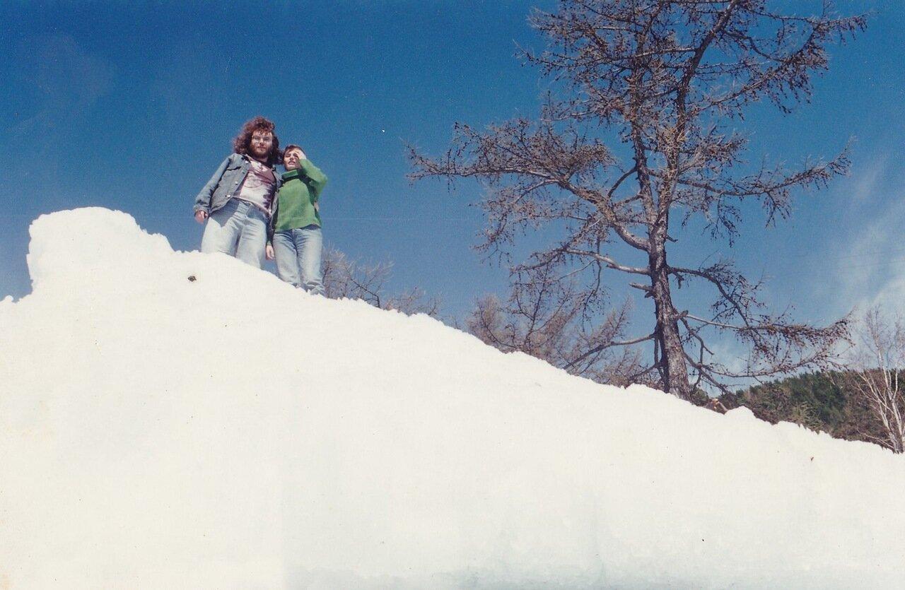 1995. На Байкале