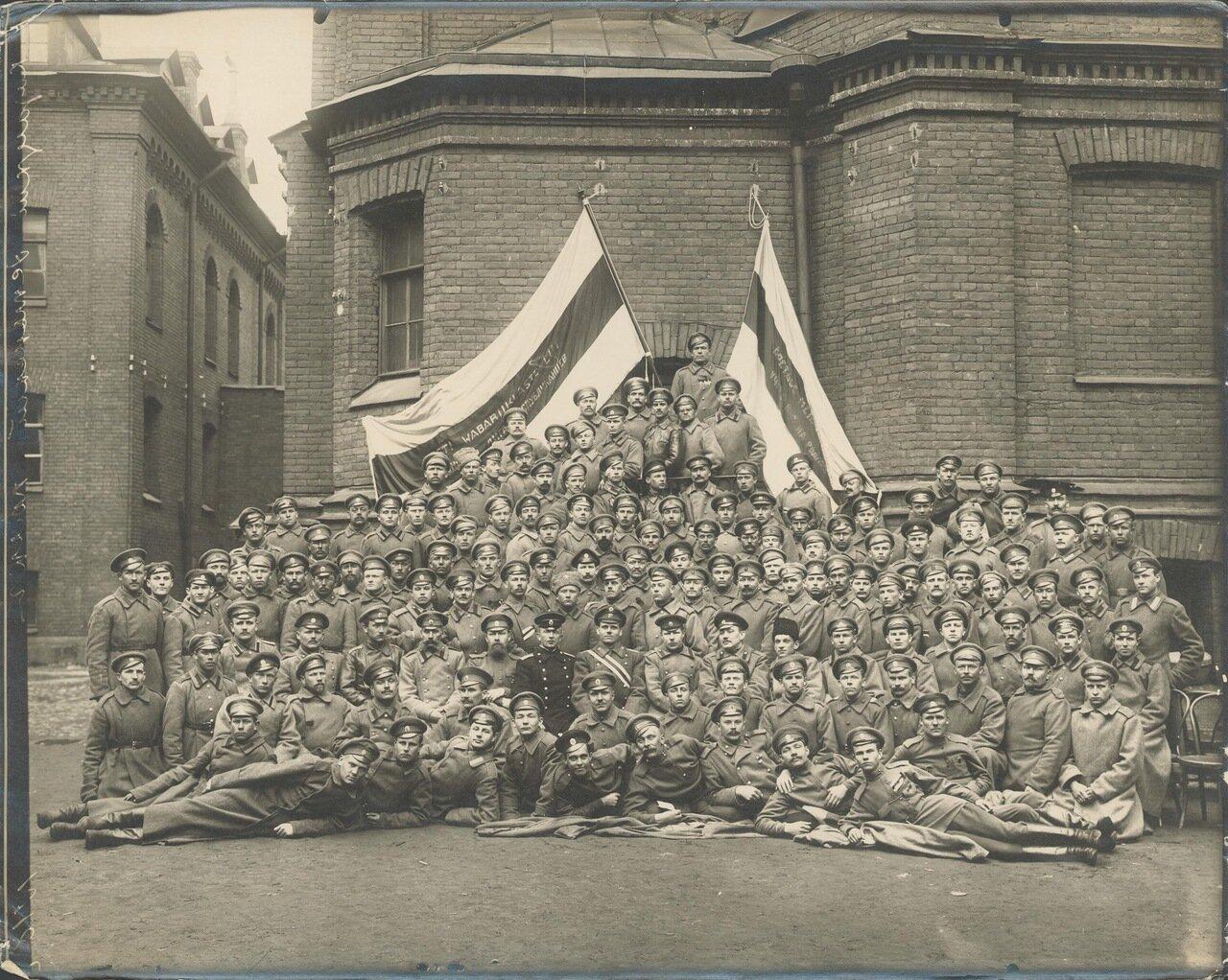 1917. Казацкий Эстонский полк