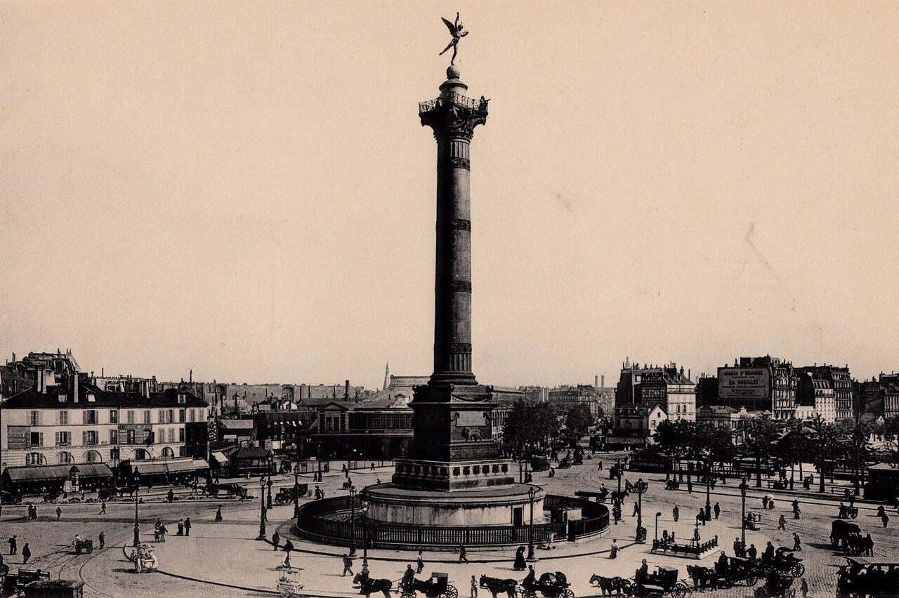 1910-е. Июльская колонна, Площадь Бастилии
