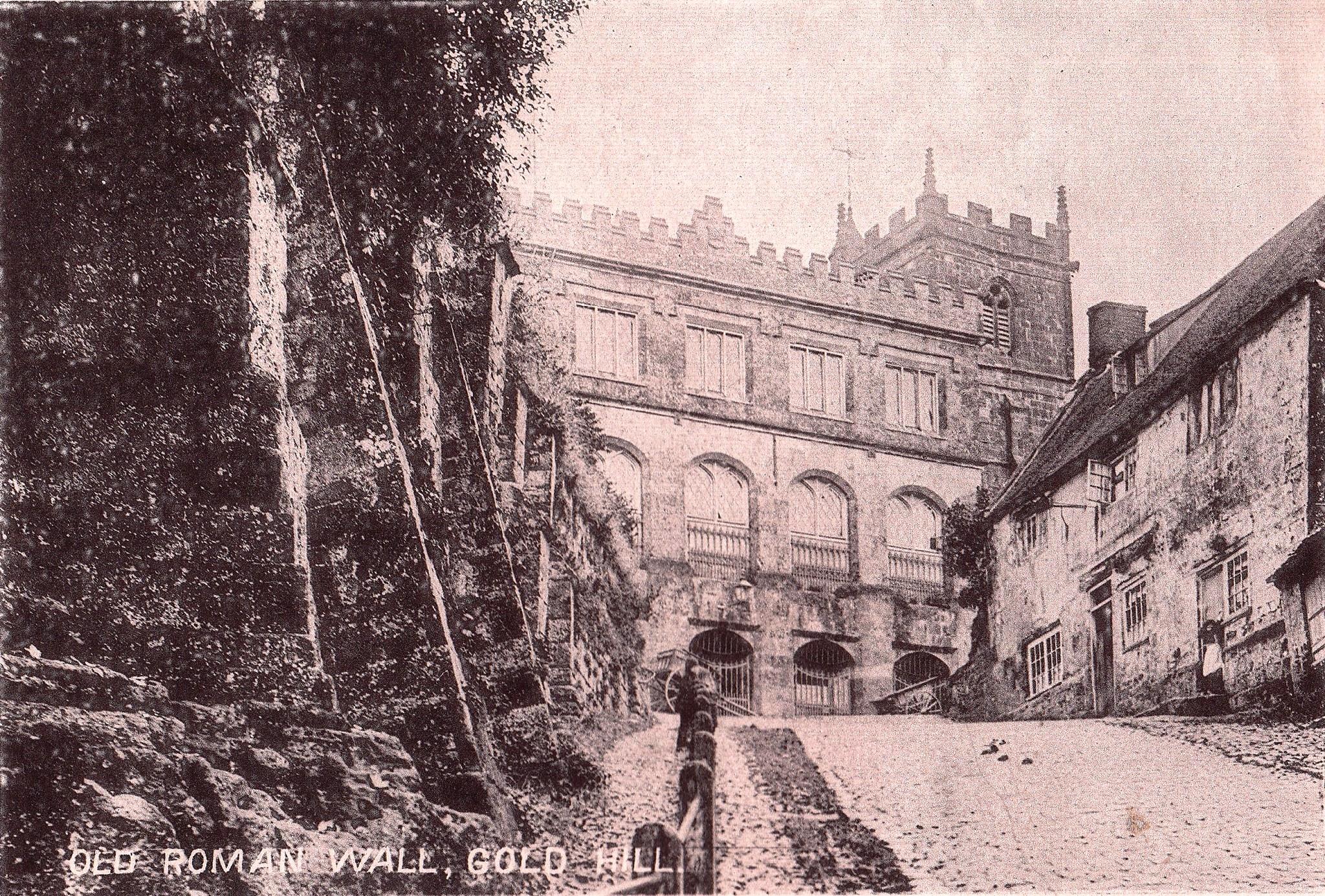 Старая римская стена, Голд-Хилл