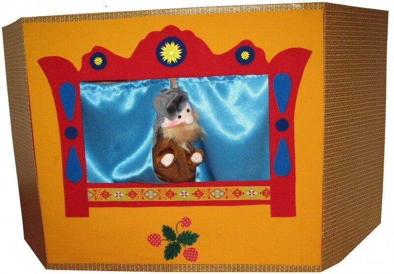 Настольная ширма для кукольного театра своими руками 79