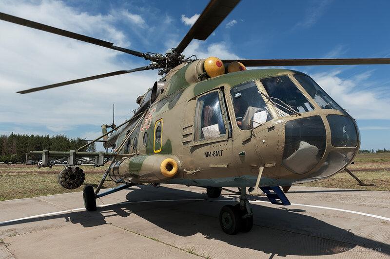 Миль Ми-8МТ (RF-92535 / 36 Красный) D709154