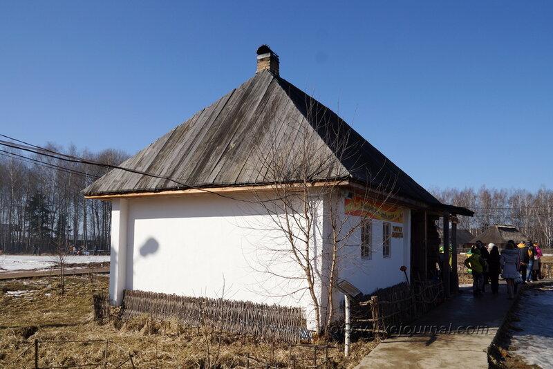 Дом юго-восточного плана, Этномир, Калужская обл.