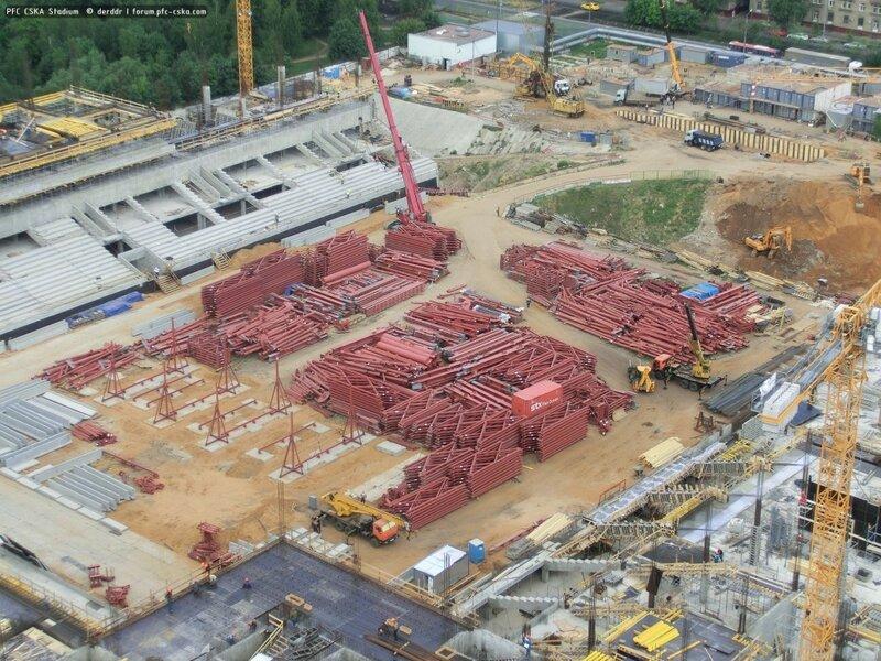 Строительство стадиона цска фото 24