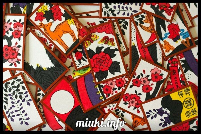 Ханафуда - цветочные карты