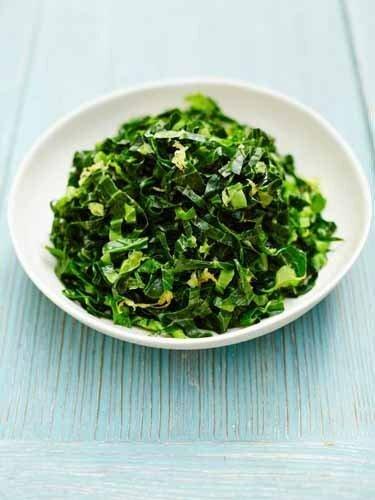 Рецепты постных блюд. Первая зелень - лимонная молодая зелень