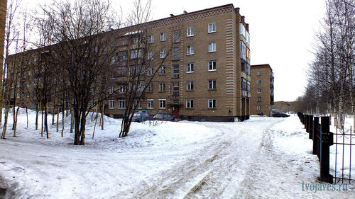Фото города Инта №6527  Куратова 14 и 16 14.04.2014_12:02