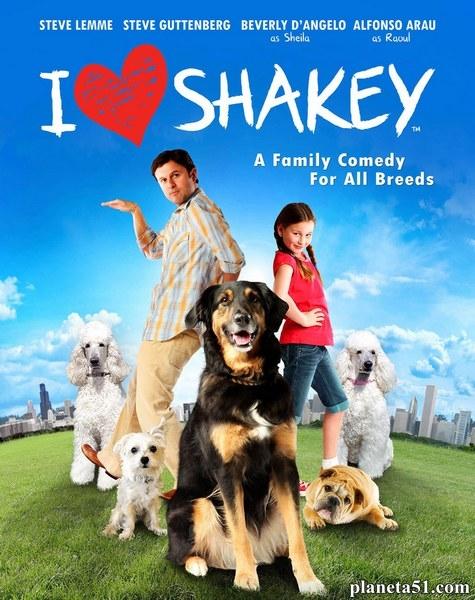 Я, папа и собака / Танцуем! / I Heart Shakey (2012/WEB-DLRip)