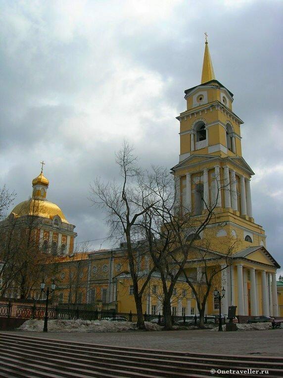 Пермь. Спасо-Преображенский кафедральный собор (1820 г.)
