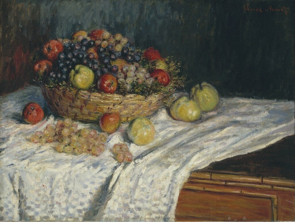 Fruit Basket with Apples and Grapes, 1879.jpeg