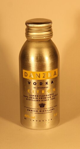 Водка Danzka Citron Vodka of Denmark