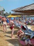 Городской пляж в Феодосии