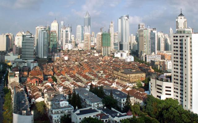 3. Китай, центральный Шанхай