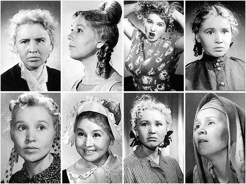 28. Самые выразительные фотопробы актрисы на разные роли. Еще пара интересных фактов: в «Собаку Баск