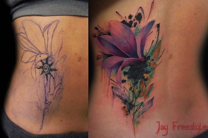 Татуировки профессионального художника Джея Фристайла (19 фото)