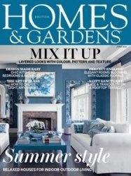 Журнал Homes & Gardens - June 2015
