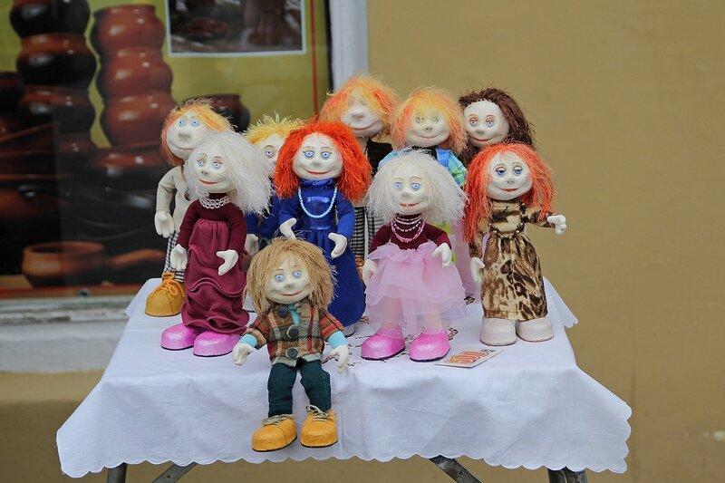 Вятский Арбат: авторские куклы