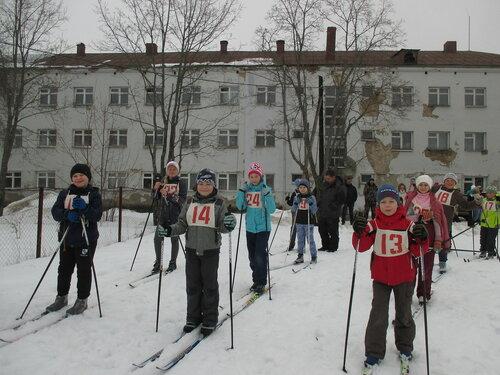 Первенство по лыжным гонкам  в  Детско-юношеской спортивной школе.
