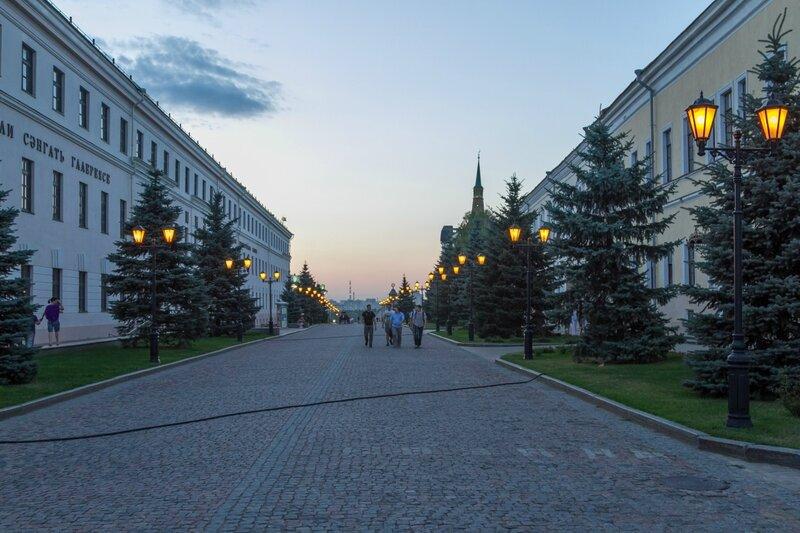 Проезд Шейкмана, Казанский кремль