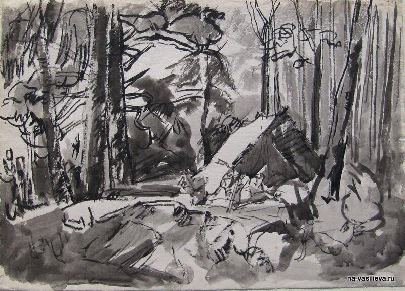 Сергей Катков художник, его работы