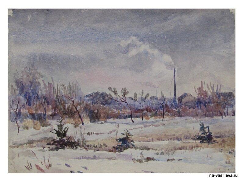 Картины Сергея Каткова пейзаж