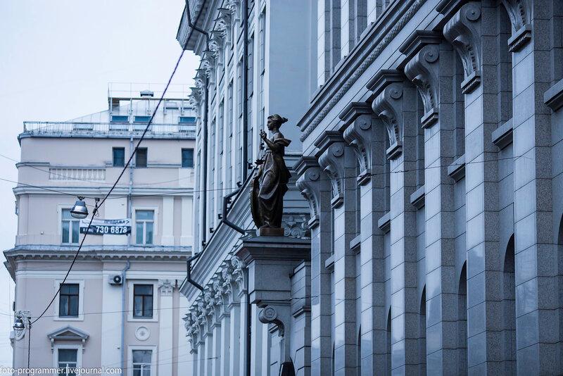 Улица Поварская и окрестности