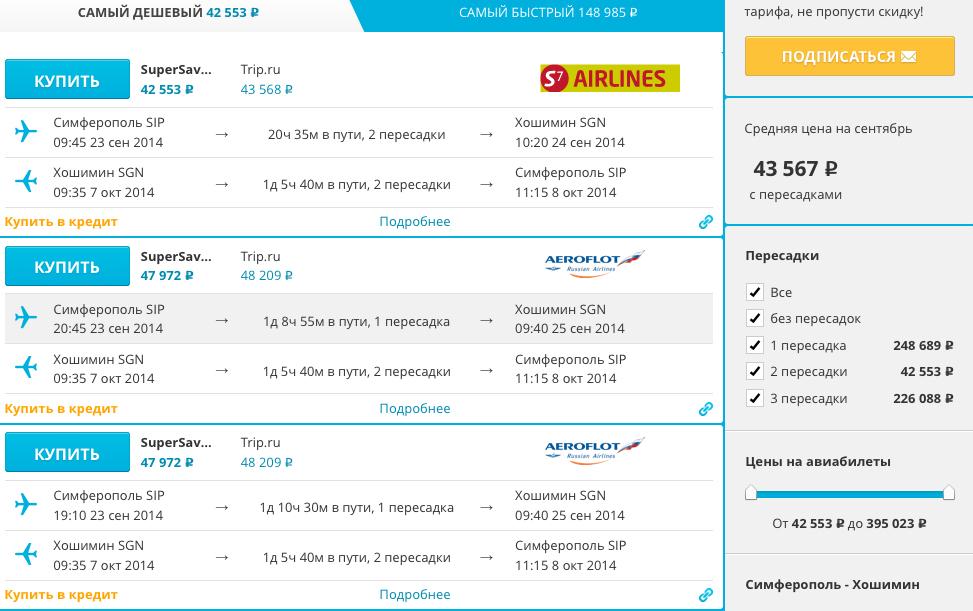 Сервис для отлавливания дешевых цен на авиабилеты