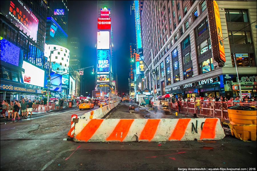 Нью-Йоркскую Тверскую тоже перекопали