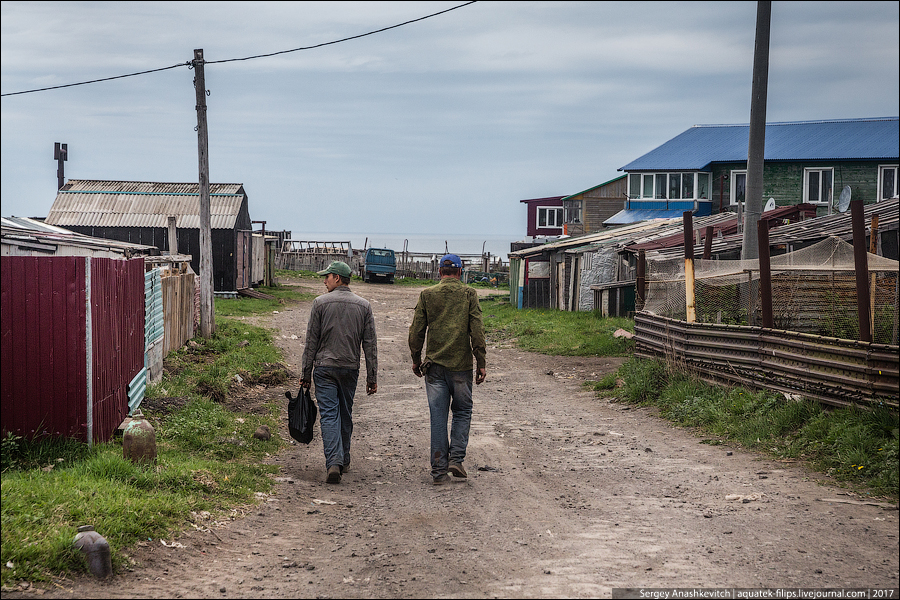 Как живут люди на острове Итуруп