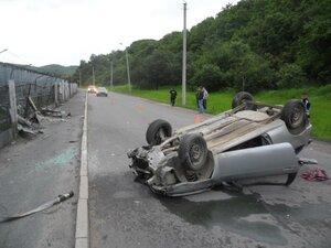 В Приморье в ДТП пострадали пять подростоков