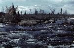 1941-09-26 На озерах Тунтса, дом к. Примечание: Vrikuvien Брошюра информации. То же место / же образ как JSdia733. Изображение двух различных копий, с даты, отмеченной октября 1941 года. Место: Алакуртти (Salla)