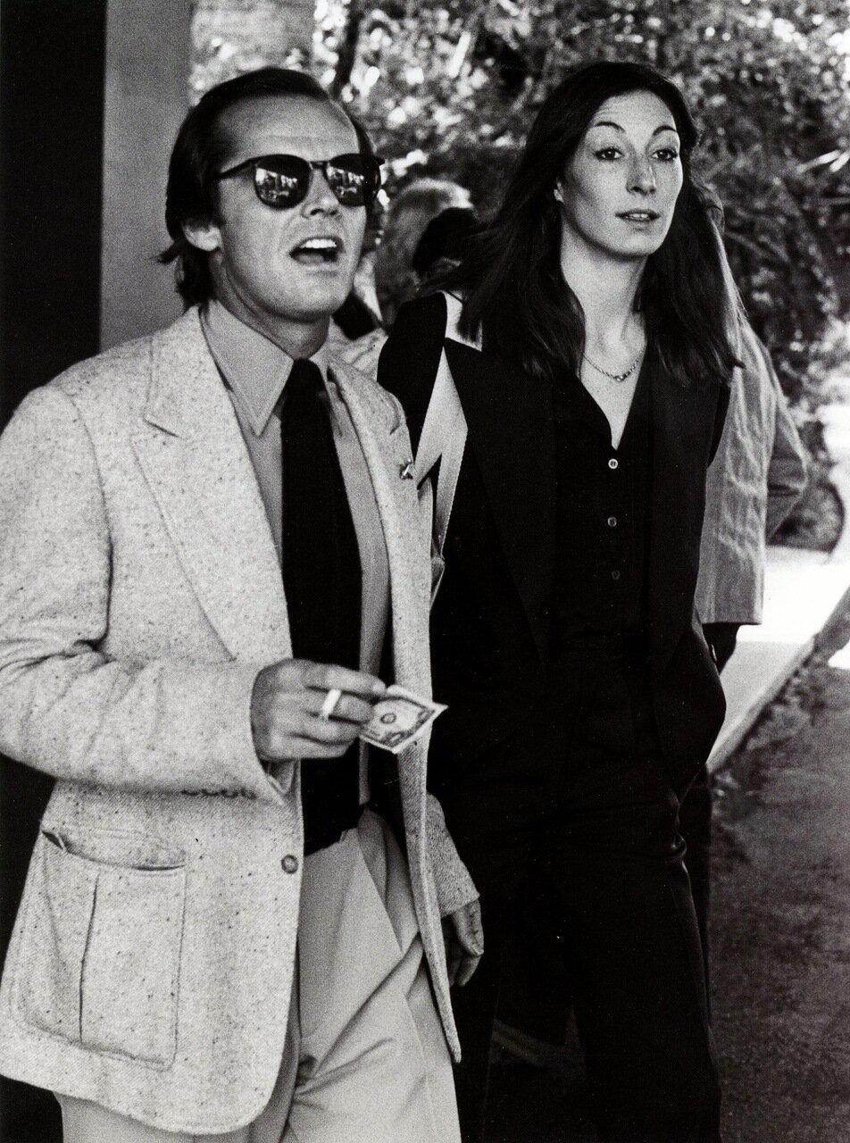 1977. Джек Николсон и Анжелика Хьюстон