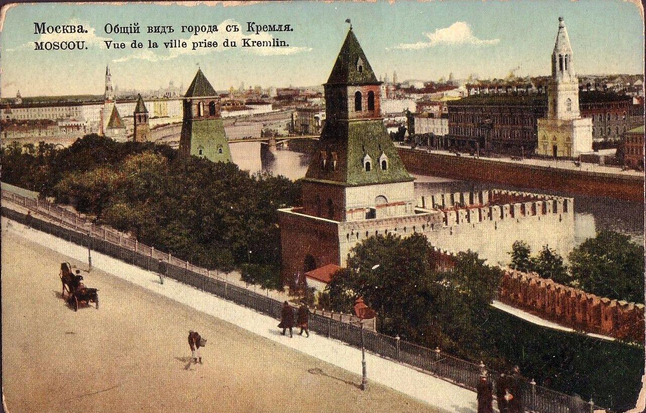 Кремль. Общий вид города