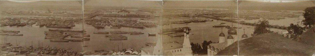 1880. Панорама города