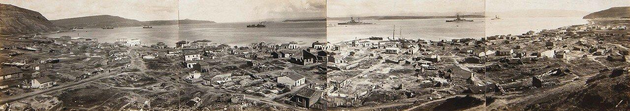 1880-е. Панорама Афин