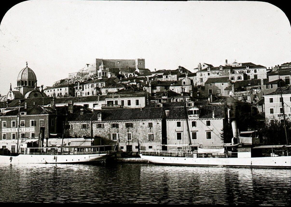 Шибеник. Вид порта
