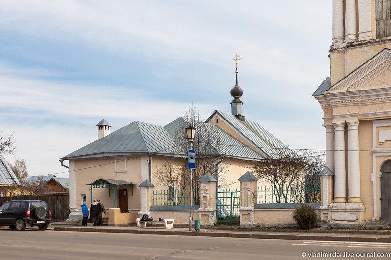 Церковь Симеона Столпника у юго-восточной стены Спасо-Евфимиева монастыря в Суздале