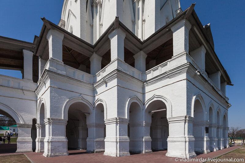 Подклет Церкви Вознесения Господня в Коломенском