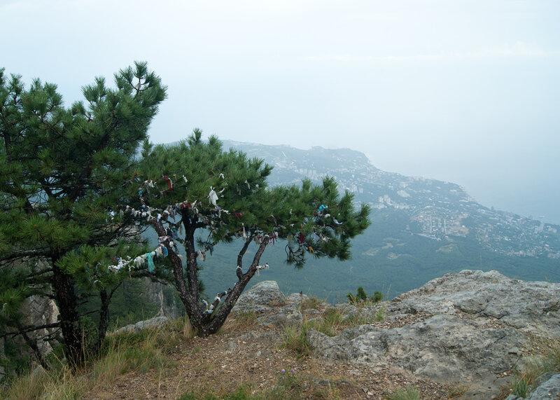 Гроза и гора