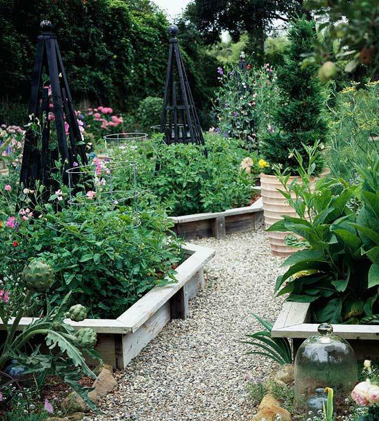 Садовые дворики. Ландшафтный дизайн  - фото 25