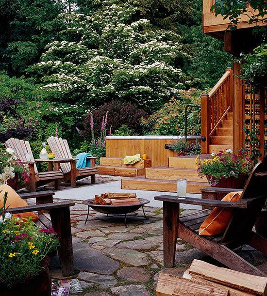 Садовые дворики. Ландшафтный дизайн  - фото 30