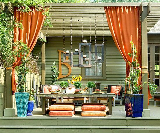 Садовые дворики. Ландшафтный дизайн  - фото 36