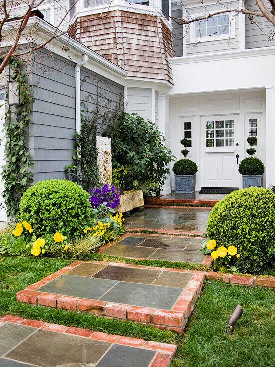 Садовые дворики. Ландшафтный дизайн  - фото 39