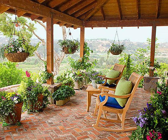 Садовые дворики. Ландшафтный дизайн  - фото 41