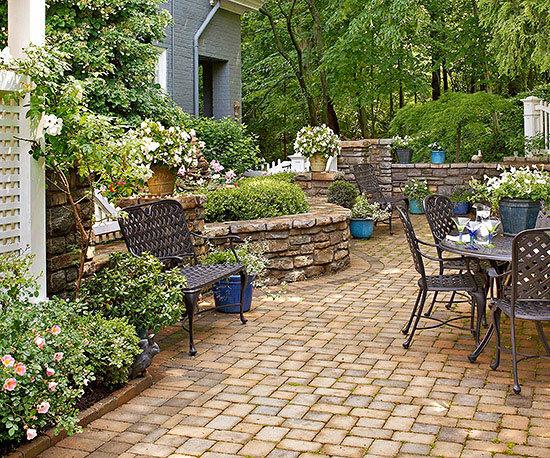 Садовые дворики. Ландшафтный дизайн  - фото 44
