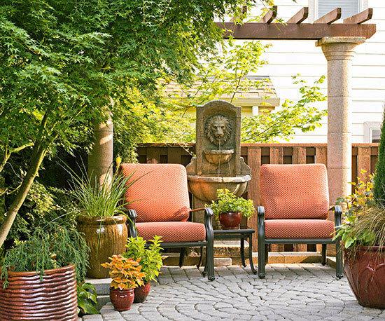 Садовые дворики. Ландшафтный дизайн  - фото 46