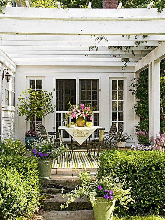 Садовые дворики. Ландшафтный дизайн  - фото 49
