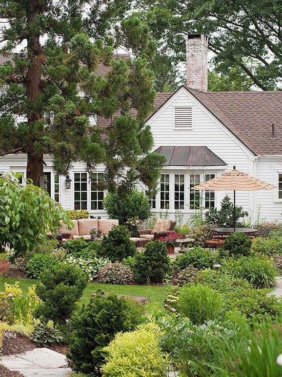 Садовые дворики. Ландшафтный дизайн  - фото 2