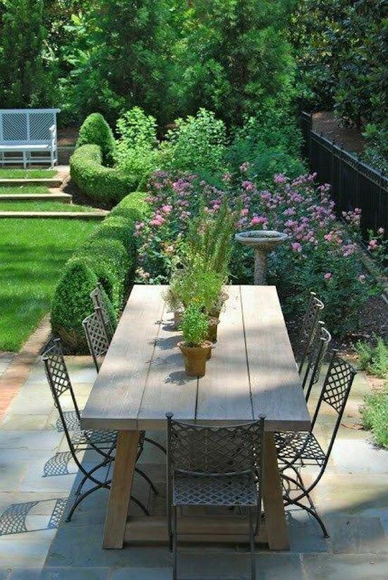 Садовые дворики. Ландшафтный дизайн  - фото 20
